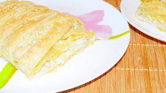 Рыбный пирог из слоеного теста: пошаговый рецепт с фото