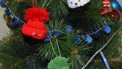 Как сделать игрушку-шапочку на Новый год