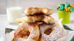Пышные дрожжевые пончики на молоке: простой рецепт вкусного лакомства