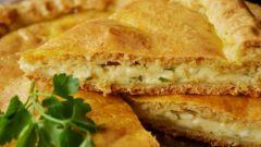 Как испечь пирог с плавленным сыром