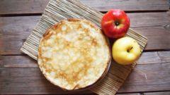 Как приготовить самые вкусные яблочные блинчики на молоке
