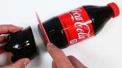 Как приготовить желе из кока-колы в бутылке