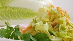 Как приготовить салат из пекинской капусты: вкусный рецепт