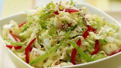 Как приготовить крабовый салат с пекинской капустой