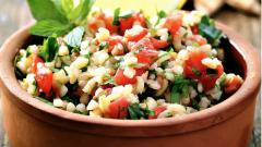 Как приготовить ливанский салат с кускусом