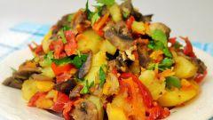 Как приготовить постное овощное рагу