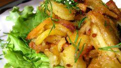 Как приготовить картошку с салом в духовке