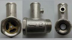 Как сделать обратный клапан для водонагревателя