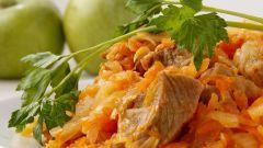 Как вкусно потушить капусту с мясом