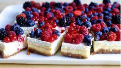 Как приготовить ягодный чизкейк в домашних условиях: пошаговый рецепт