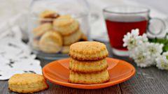 Как испечь печенье из творога и сметаны