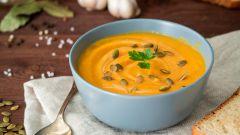 Как сварить тыквенный суп-пюре