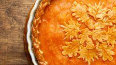 Как приготовить постный морковный пирог