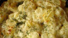 Как приготовить картофель, тушеный в молоке
