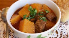Как приготовить овощное рагу с мясом и картошкой: пошаговый рецепт