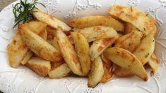 Как приготовить картофель дольками в духовке с хрустящей корочкой