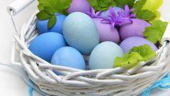 Как покрасить яйца к Пасхе капустой