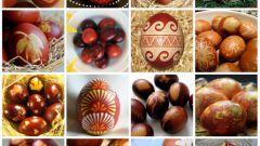 Как покрасить яйца в луковой шелухе на Пасху
