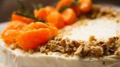 Как приготовить мандариновый торт