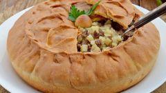 Как приготовить татарский пирог с мясом