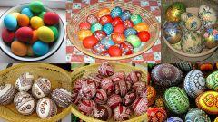 Как покрасить пасхальные яйца своими руками