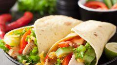 Как сделать мексиканскую лепёшку с овощами