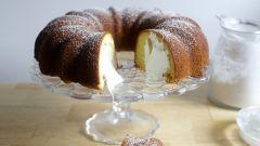 Как приготовить кекс Бундт: пошаговый рецепт