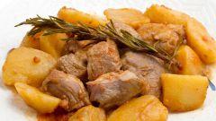 Как приготовить вкусный картофель с мясом по-грузински на сковороде