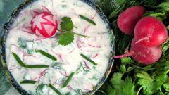 Как приготовить салат из редиски с зеленью: 2 рецепта