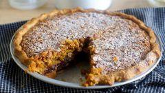 Как приготовить шоколадный пирог из овсяных хлопьев