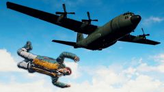 Как правильно прыгать с парашютом в PUBG