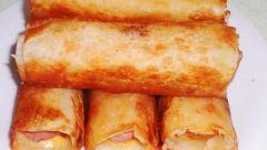 Как приготовить сосиски в лаваше с сыром и картошкой