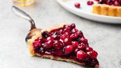 Как приготовить простой и вкусный торт с клюквой
