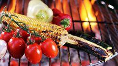 Как приготовить овощи барбекю