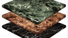 Как применяют литьевой мрамор