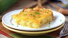 Как приготовить картофельную запеканку под сыром в духовке