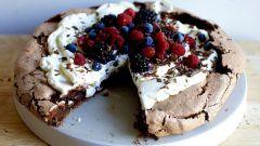 Как приготовить торт Павлова в домашних условиях
