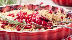 Как приготовить пирог с замороженной клюквой: простой рецепт