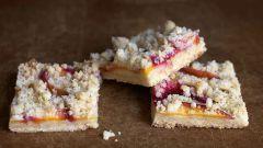 Как приготовить печенье со свежими персиками