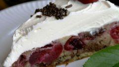 Как приготовить вишневый пирог по простому рецепту
