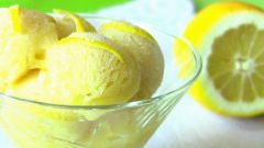 Как приготовить домашний лимонный сорбет