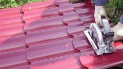 Чем резать металлочерепицу: разновидности изделий
