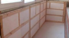 Отделка балкона гипсокартоном с утеплением: 5 простых этапов