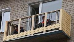 Отделка балкона сайдингом: наружная и внутренняя обшивка