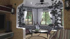 Балкон с эркером: оформление лоджии