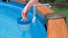 Скиммер для бассейна: что это такое, как сделать своими руками