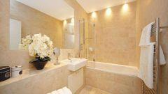 Бежевая ванная: 5 важных принципов оформления