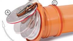 Вентиляционный клапан канализации: применение воздушных клапанных приборов