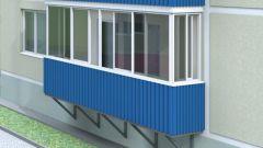 Балкон из металлопрофиля снаружи: 5 этапов отделки