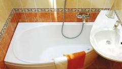 Асимметричная ванна и раковина: 3 основные классификации